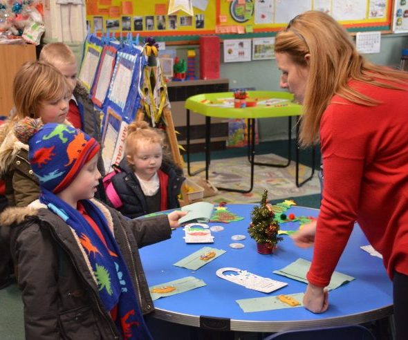 Tilstock Primary School Offers Free Nursery Places